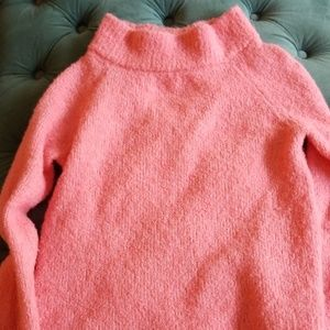 Gorgeous pink sweater from Anthropologie